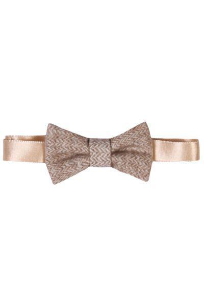 галстуки и бабочки byblos для мальчика, бежевые