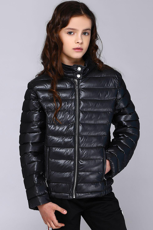 куртка gaialuna для девочки, черная