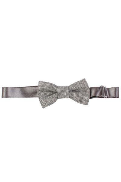 галстуки и бабочки byblos для мальчика, серые