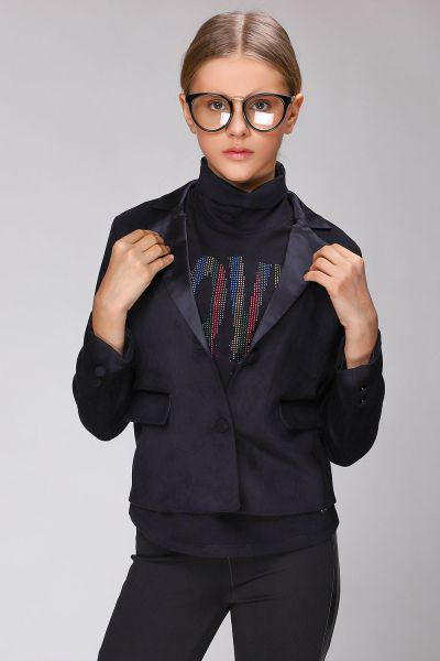 пиджак gaudi для девочки, черный
