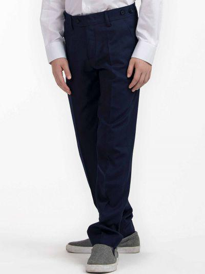 брюки смена для девочки, синие