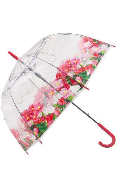 Купить Зонт, Raindrops, Розовый, UNI, Женский