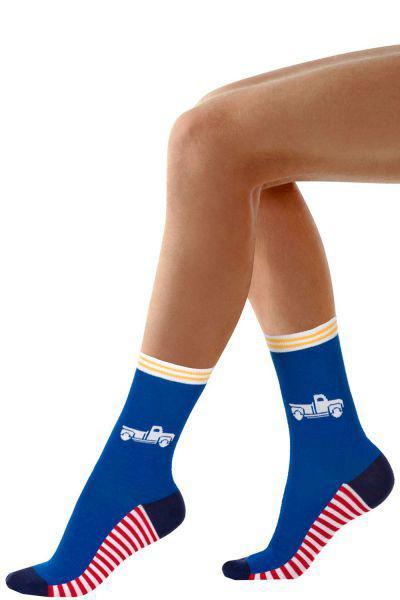 Носки для мальчика SNK1331 синий Charmante, Китай (КНР)