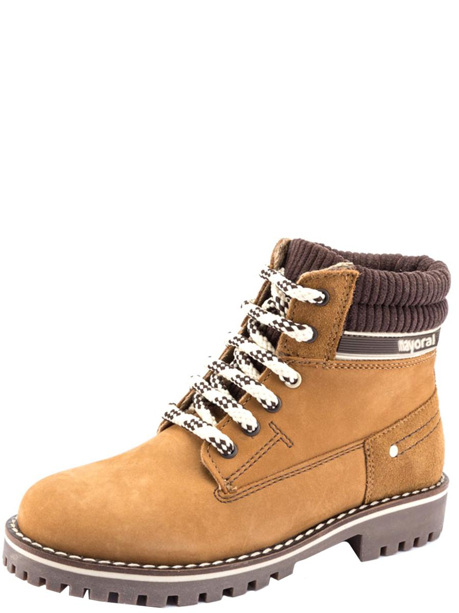 ботинки mayoral для мальчика, коричневые