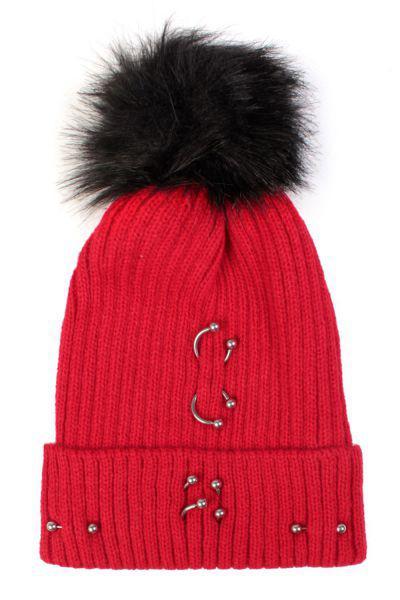 шапка gaialuna для девочки, красная