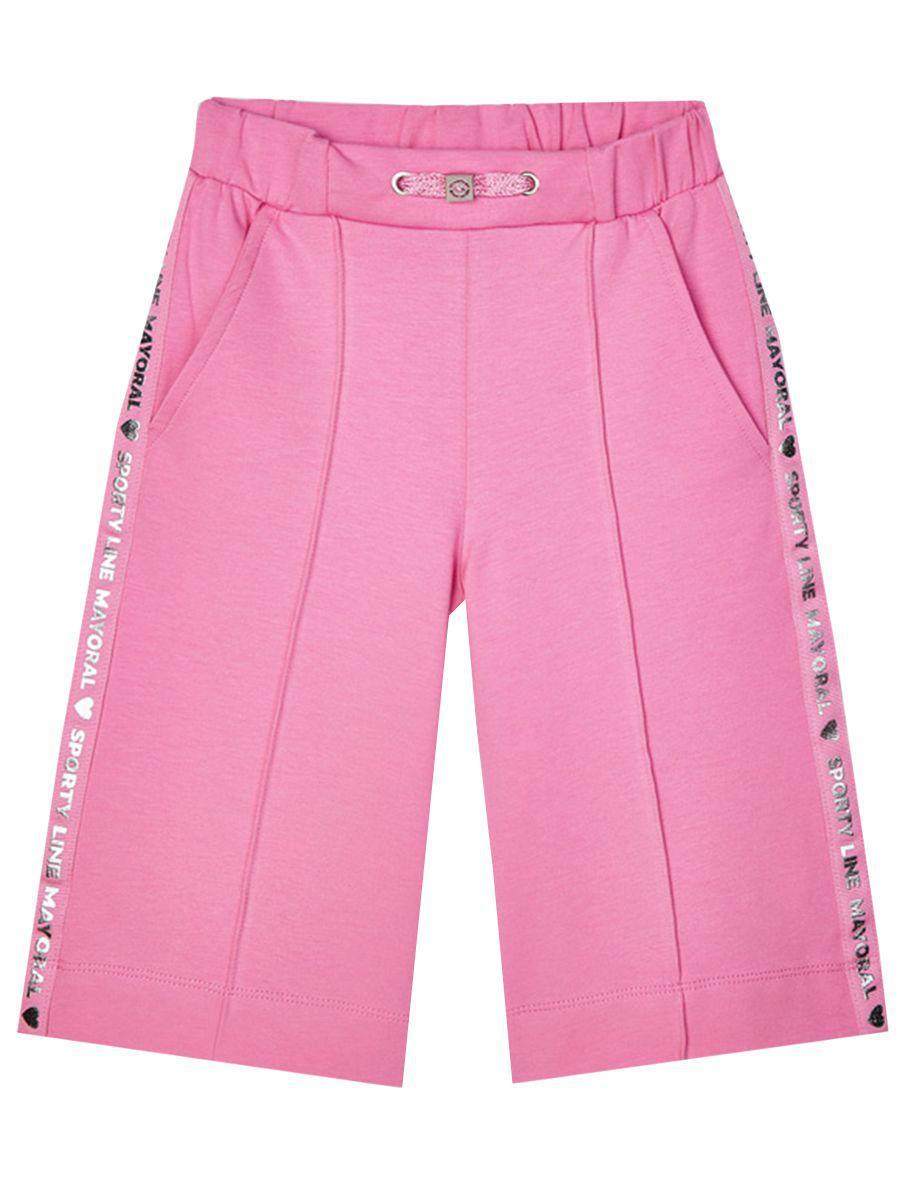 бриджи mayoral для девочки, розовые