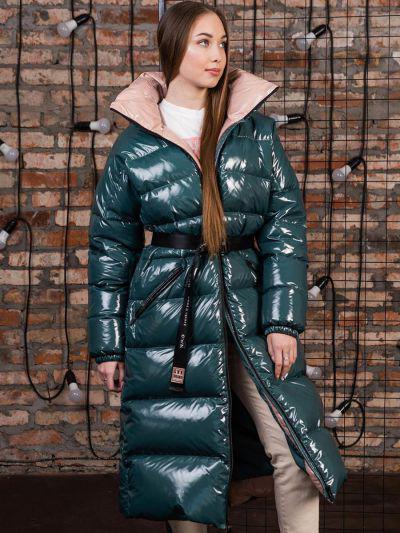 Купить Пальто, GnK, Зеленый, Полиэстер-100%, Женский
