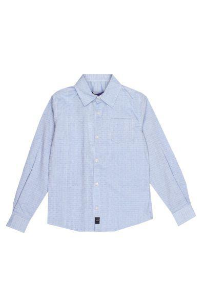 Рубашка, Gaudi, Голубой, Хлопок-100%, Мужской  - купить со скидкой