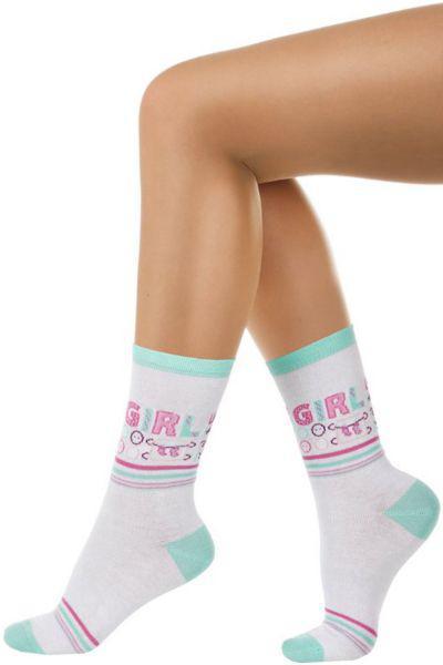 Носки для девочки SAKP-1395 белый Charmante, Китай (КНР)