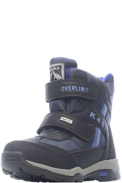 Купить Ботинки, Kapika, Черный, Искусственный материал-100%, Мужской