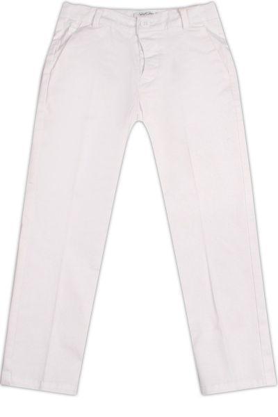 брюки street gang для девочки, белые