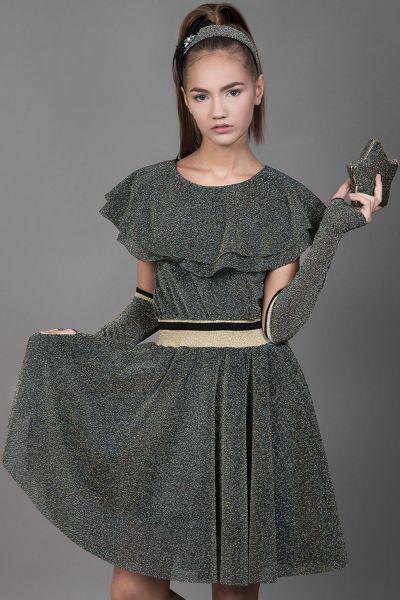 Купить Платье, Noble People, Зеленый, Полиэстер-100%, Женский