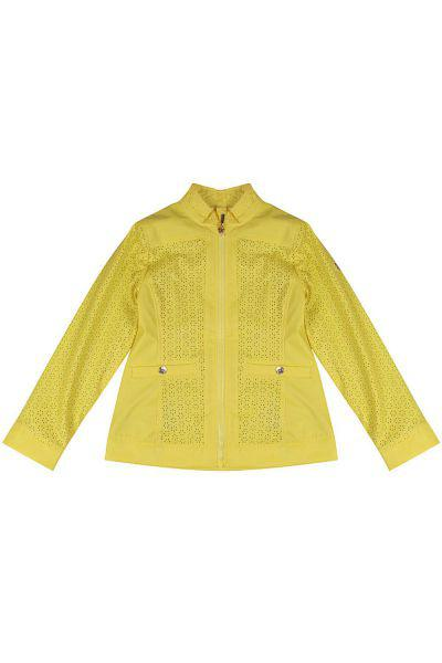 Купить Куртка, Les Trois Vallees, Желтый, Нейлон-100%, Женский