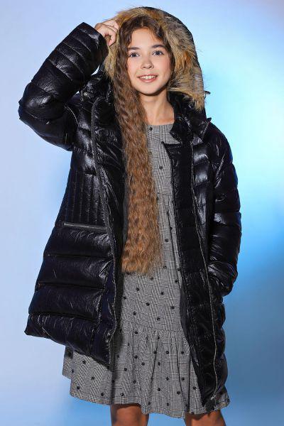Купить Куртка, Y-clu', Черный, Полиамид-100%, Женский