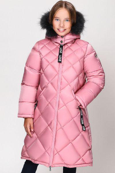 Купить Пальто, Les Trois Vallees, Розовый, Полиэстер-64%, Нейлон-36%, Женский