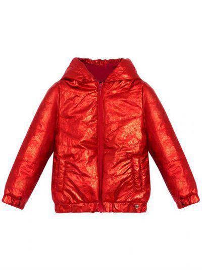 Куртка, Beba Kids, Красный, Полиамид-100%, Женский  - купить со скидкой