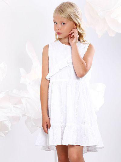 Купить Платье, Y-clu', Белый, Хлопок-100%, Женский