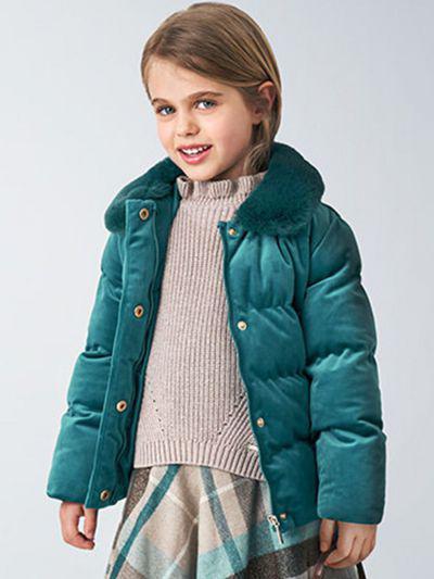Куртка, Mayoral, Зеленый, Полиэстер-100%, Женский  - купить со скидкой