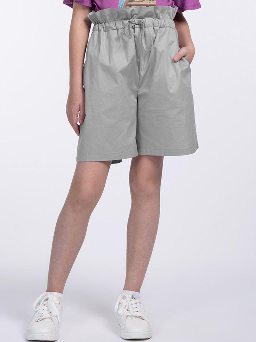 шорты смена для девочки, серые
