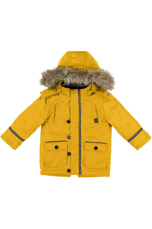 Купить Куртка, Mayoral, Желтый, Полиэстер-100%, Мужской