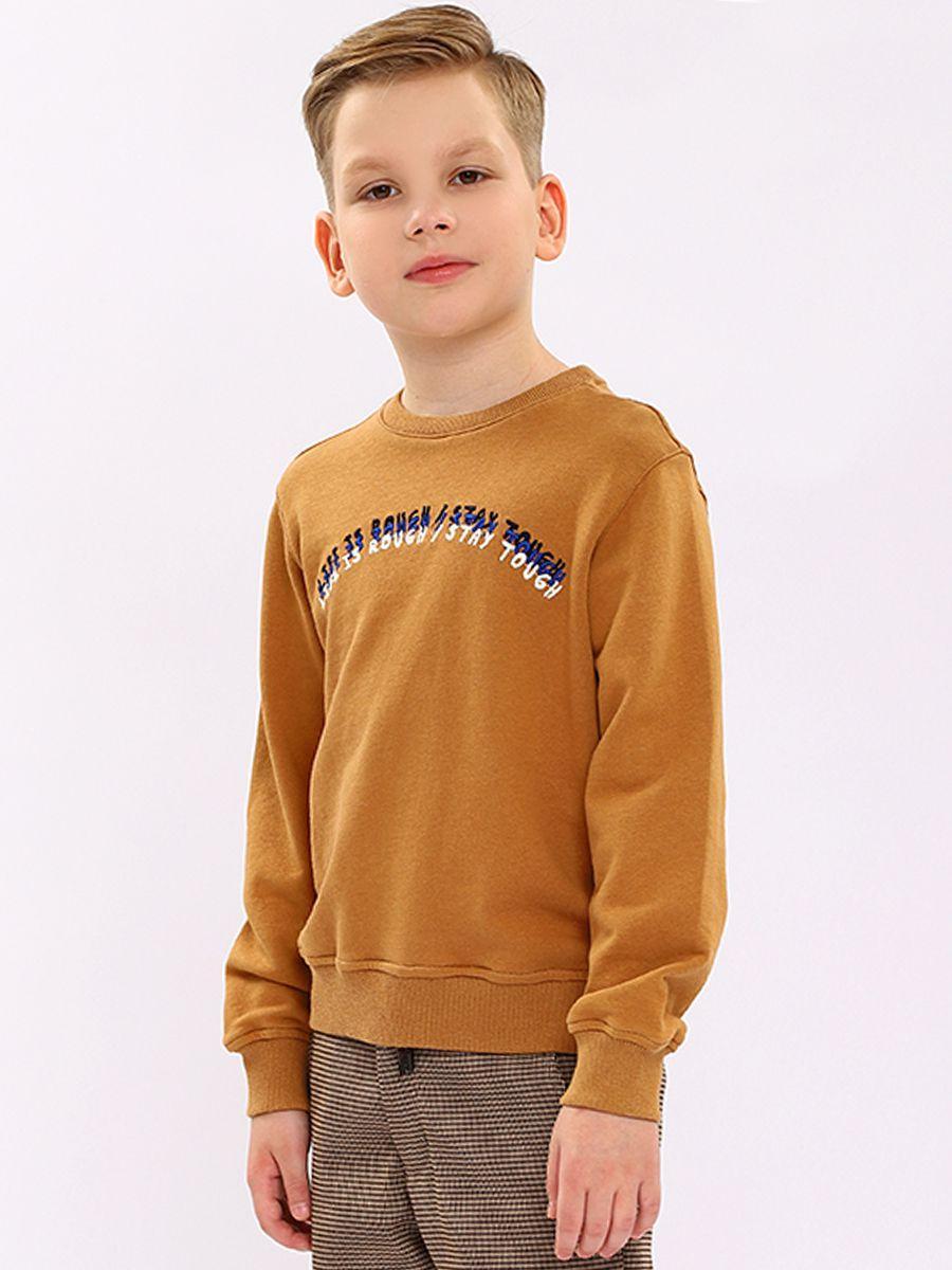 толстовка y-clu' для мальчика, коричневая