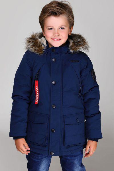 Купить Куртка, Vingino, Синий, Хлопок-65%, Нейлон-35%, Мужской