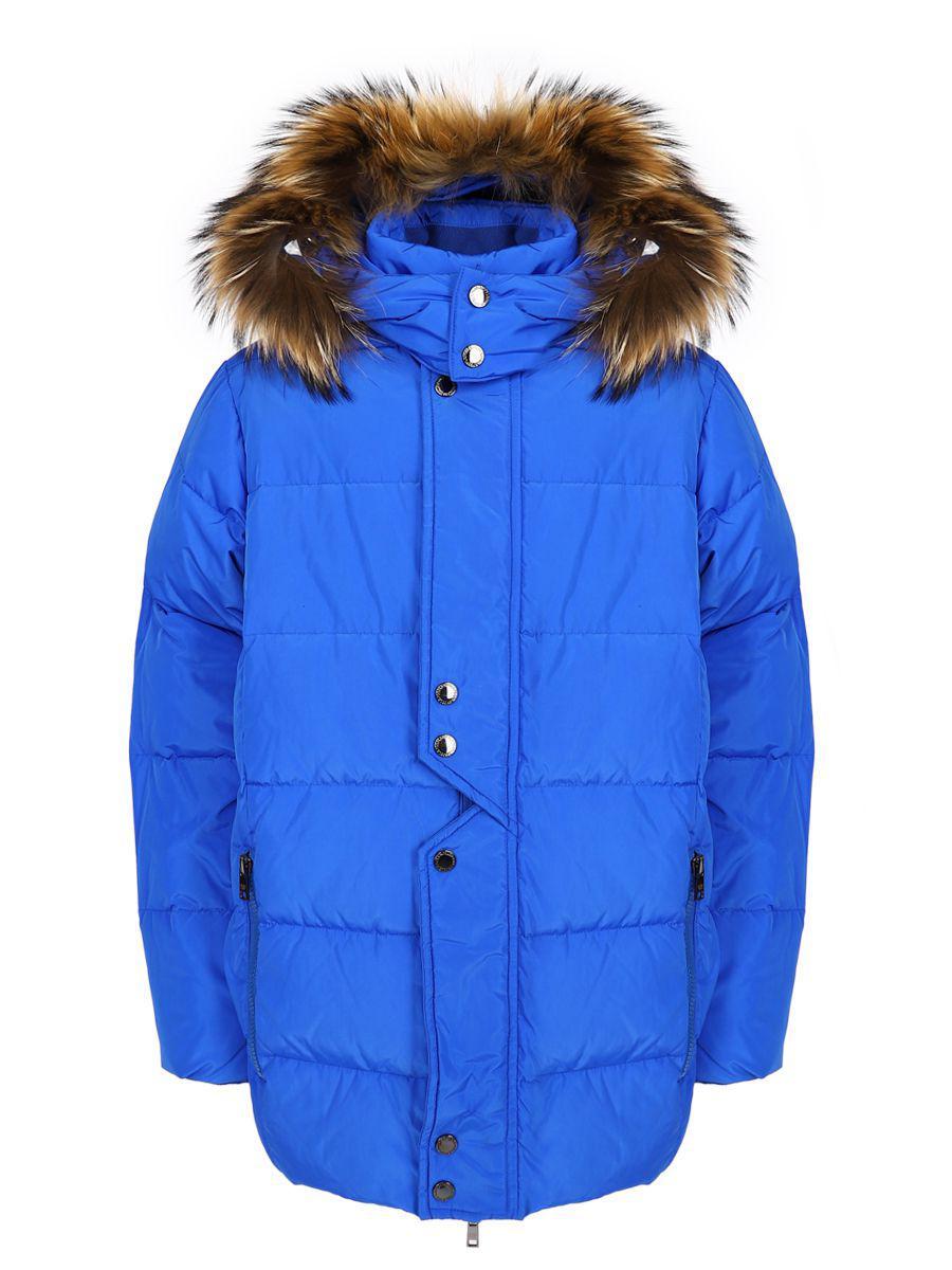 куртка noble people для мальчика, голубая