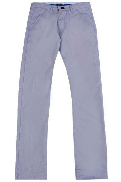 брюки byblos для девочки, голубые