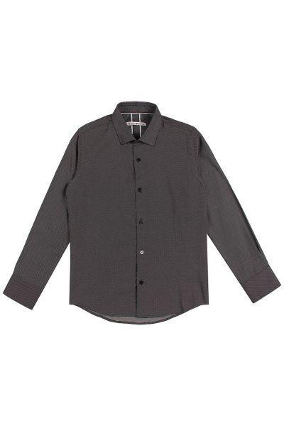Рубашка, Noble People, Черный, Хлопок-100%, Мужской  - купить со скидкой