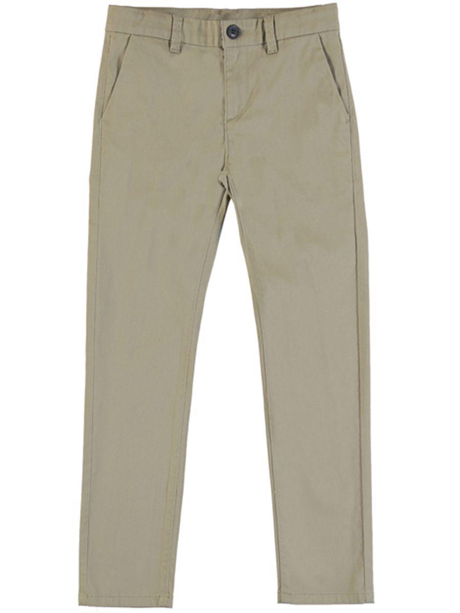 брюки mayoral для девочки, бежевые