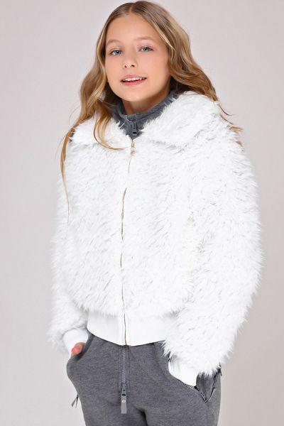 Купить Куртка, Gaudi, Белый, Хлопок-95%, Эластан-5%, Женский