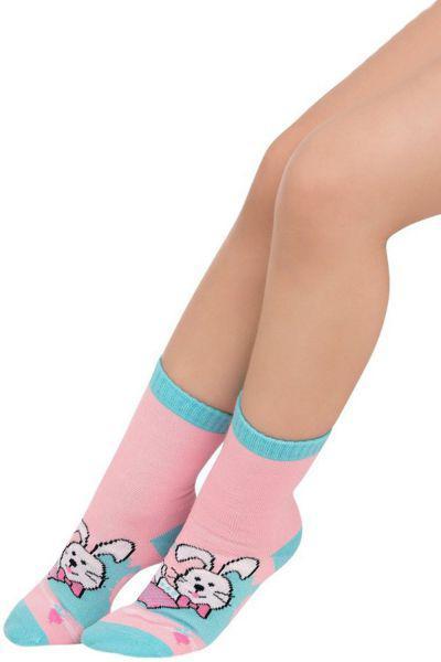 Носки для девочки SAK-1427 розовый Charmante, Италия