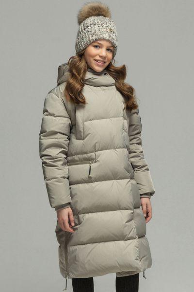 Купить Пальто, Noble People, Серый, Полиэстер-100%, Женский