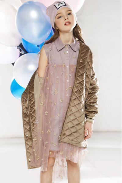 Купить Платье, Noble People, Розовый, Нейлон-100%, Женский