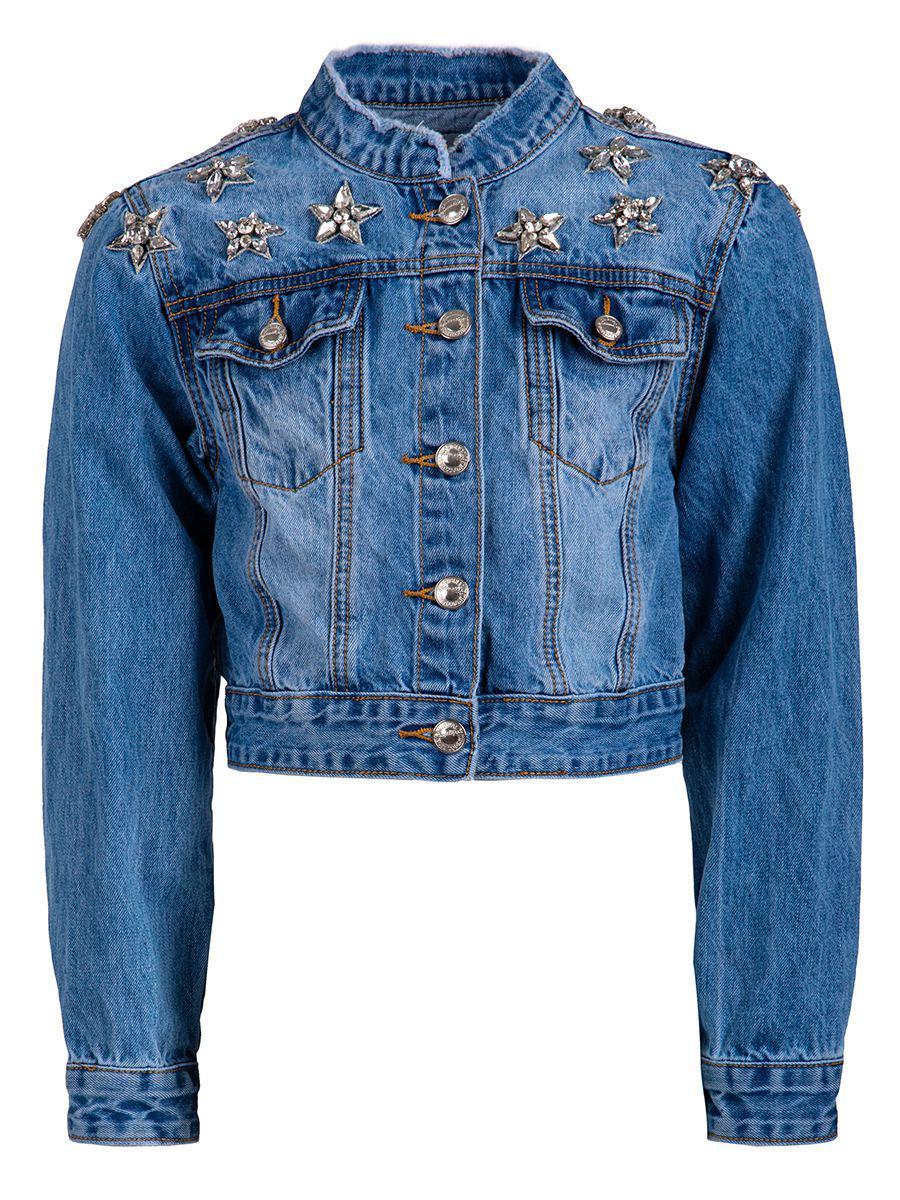 куртка to be too для девочки, синяя