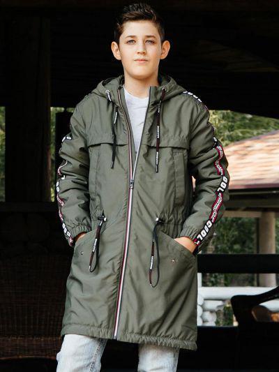Купить Куртка, GnK, Коричневый, Полиэстер-100%, Мужской