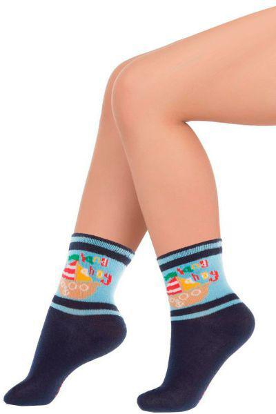 Носки для мальчика SNK-1466 синий Charmante, Италия