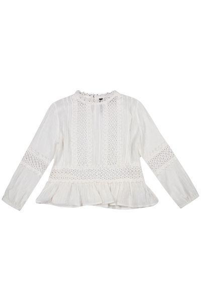 Купить Блуза, Manila Grace, Белый, Полиэстер-100%, Женский