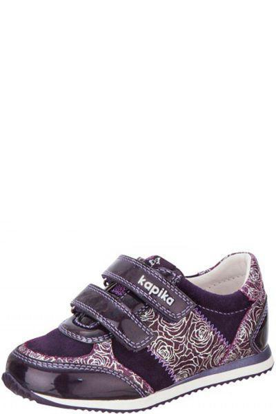 Кроссовки для девочки 23391-2 фиолетовый Kapika, Российская Федерация