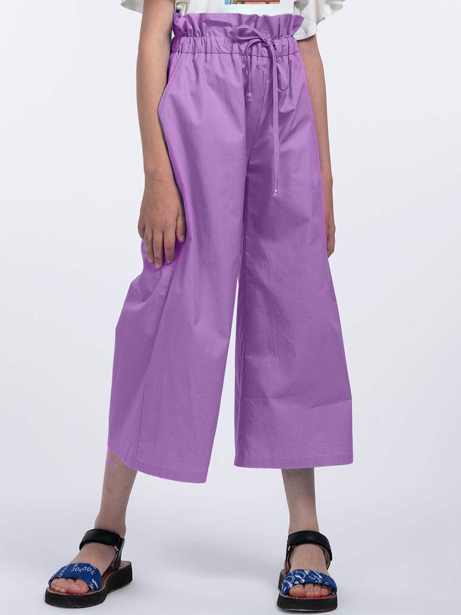 Кюлоты Смена фиолетового цвета