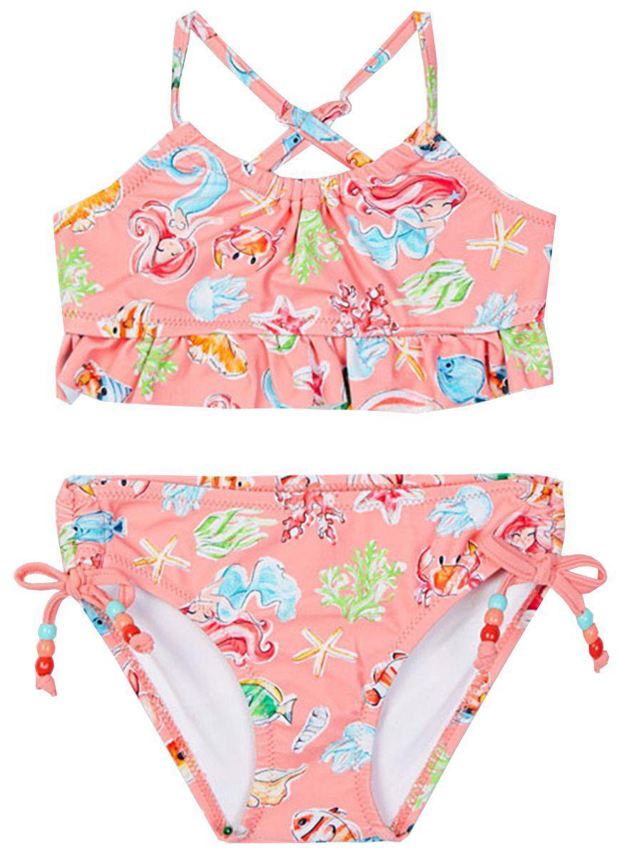 купальник mayoral для девочки, розовый
