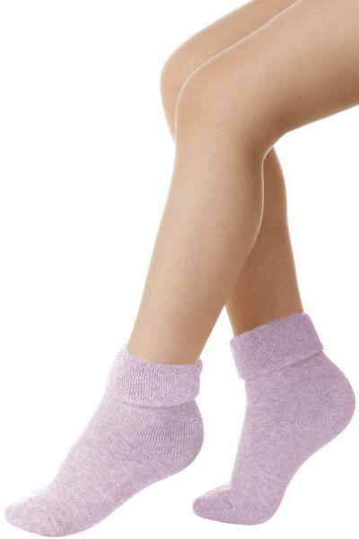 Носки махровые для девочки SBBM-1002B фиолетовый Charmante, Италия