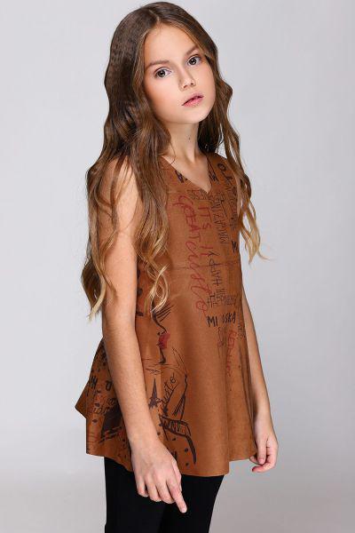 Платье, Custo Barcelona, Коричневый, Хлопок-100%, Женский  - купить со скидкой