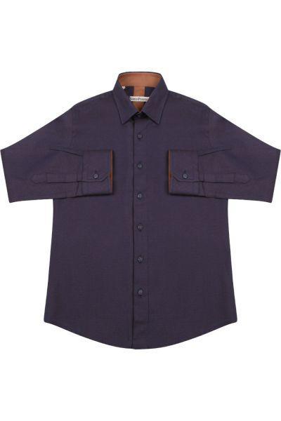 Купить Рубашка, Noble People, Фиолетовый, Хлопок-80%, Полиэстер-20%, Мужской