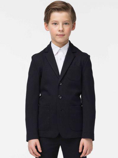 пиджак смена для мальчика, синий