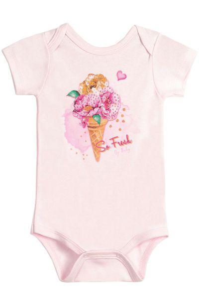 Боди Up baby розового цвета