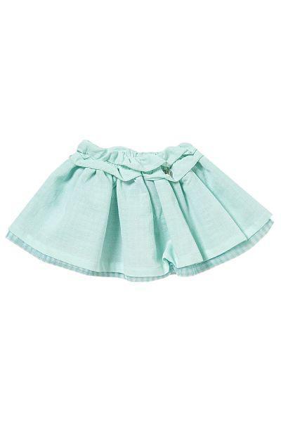 юбка gaialuna для девочки, зеленая