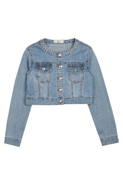 Купить Куртка, Y-clu', Голубой, Полиуретан-100%, Женский