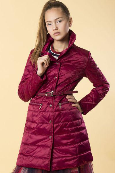 Купить Пальто, Silver Spoon, Красный, Нейлон-100%, Женский
