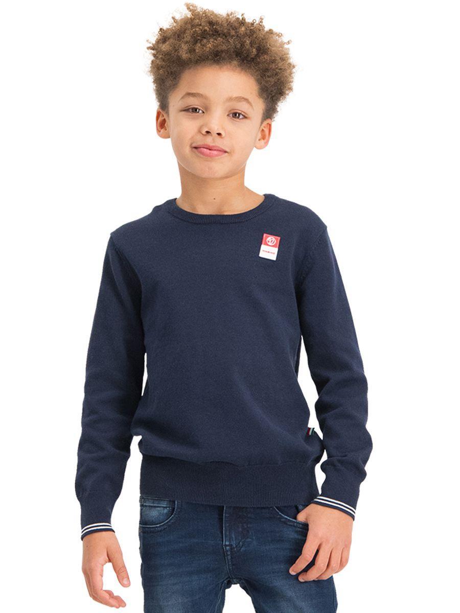 пуловер vingino для мальчика, синий